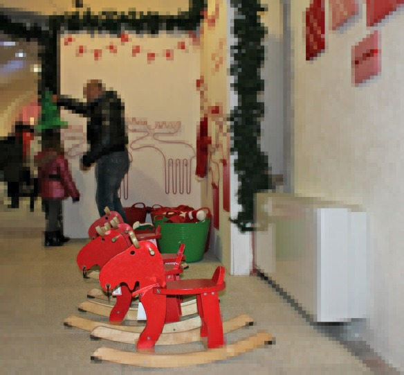 Le renne di Babbo Natale