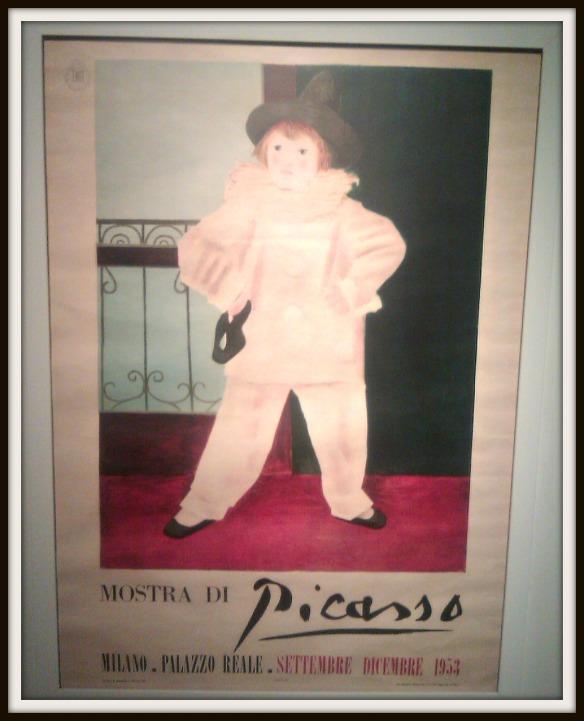 Manifesto Mostra Picasso 1953