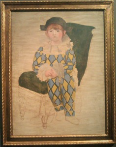 Ritratto del figlio come Arlecchino Pablo Picasso
