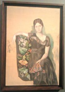 Ritratto di Olga in poltrona Pablo Picasso