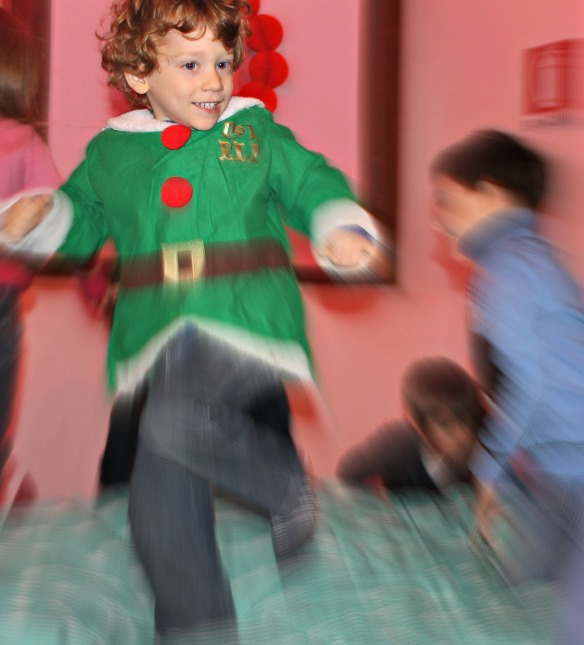 Sul letto di Babbo Natale