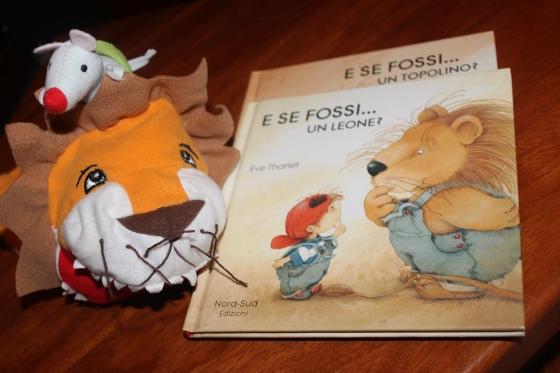Libri illustrati per bambini E se fossi un leone E se fossi un topolino