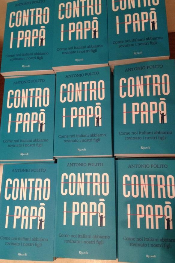 Recensione Libro di Antonio Polito Contro i papà edito da Rizzoli