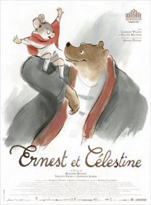 Locandina del film animato Ernest et Celestine