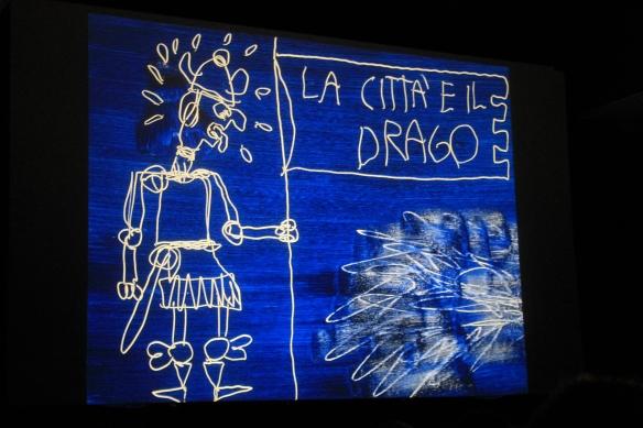 La città e il drago Gek Tessaro Recensione libro illustrato
