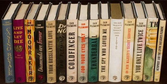Le prime edizioni delle storie di James Bond di Ian Fleming  in una collezione privata