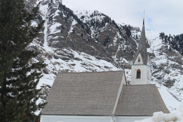 Veduta di Plan in Val Passiria