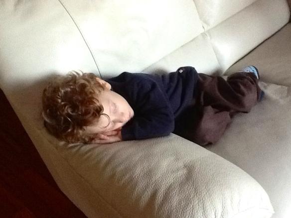 Pietro dorme